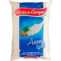 Arroz Branco Grão de Campo Tipo 1 5kg - Cod. 7896901200082