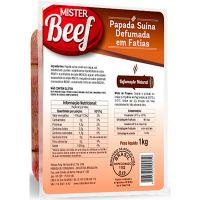 Bacon de Paleta Mister Beef Fatiado 1kg - Cod. 7896780400573