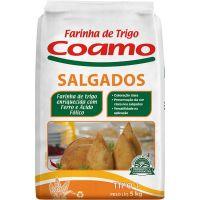 Farinha de Trigo Coamo Salgados 5kg - Cod. 7896279602259