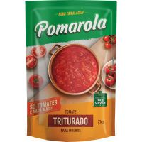 Molho de Tomate Pomarola Triturado Sachê 2kg - Cod. 7896036098851