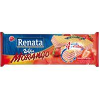 Biscoito Wafer Renata Morango 115g - Cod. 7896022204952