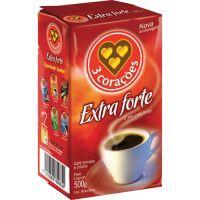 Café 3 Corações Extra Forte Vácuo 500g - Cod. 7896045102396