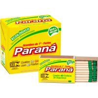 Fósforo Paraná Ecológico Com 40 Unidades | Caixa com 10 Unidades - Cod. 7896080900124