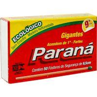 Fósforo Paraná Gigante | Caixa 15 Unidades Cada uma com 40 Palitos - Cod. 7896080900292