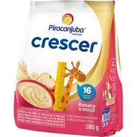 Cereal Infantil Piracanjuba Crescer Banana e Maçã 180g - Cod. 7898215157281