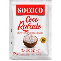 Coco Ralado Sococo 100g - Cod. 17896004400010C24