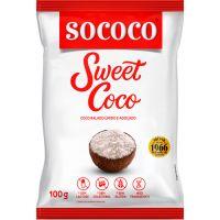 Coco Ralado Sococo Sweet Coco Úmido e Adoçado 100g - Cod. 17896004400324C24