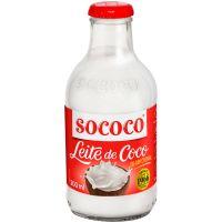 Leite de Coco Sococo Reduzido Teor Calórico 200ml - Cod. 17896004400683