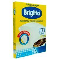 Filtro de Papel Brigitta 103   Com 30 Unidades - Cod. 7891021002103