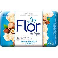 Sabonete em Barra Flor de Ypê Rosas Brancas e Avelã 85g - Cod. 7896098902264