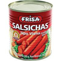 Salsicha Tipo Viena Frisa Lata 180g - Cod. 7896481911842C24