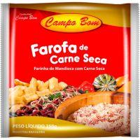 Farofa Pronta Campo Bom Carne Seca 250g - Cod. 7896616901229