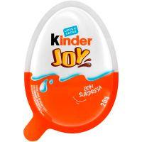 Chocolate Kinder Joy Ovo 20g | Display com 12 Unidades - Cod. 7898024393412