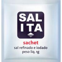Sal Refinado Ita Sachê 1g | Caixa com 2000 Unidades - Cod. 17898124620668