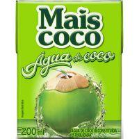 Água de Coco Mais Coco 200ml - Cod. 7896004401836C12