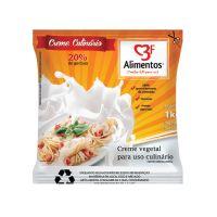Creme Culinário 3F Alimentos Bag 1L - Cod. 7899840801631