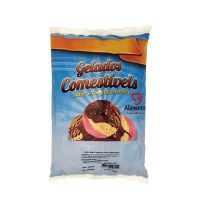 Gelados Comestíveis 3F Alimentos Chocolate com Avelã 800g - Cod. 40232767692