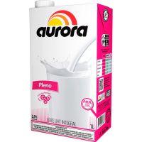 Leite Aurora Integral Tetra Pak com Rosca 1L - Cod. 7891164028237