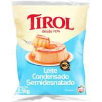 Leite Condensado Tirol 2,5kg - Cod. 7896256604993