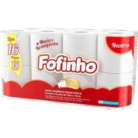 Papel Higiênico Fofinho Absolute Folha Dupla 30M | Com 16 Unidades - Cod. 7896053410230