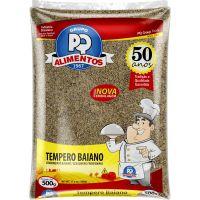 Tempero Baiano PQ Alimentos 500g - Cod. 7896635503435