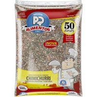 Chimichurri PQ Alimentos sem Pimenta 500g - Cod. 7896635530042