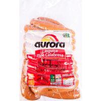 Linguiça Tipo Calabresa Aurora Tradicional 5kg - Cod. 7891164005030