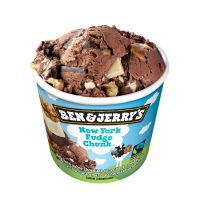 Sorvete Ben&Jerry's New York Fudge Chunk 120ML | Caixa com 12 - Cod. 76840722754C12
