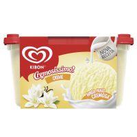 Sorvete Kibon Cremosissimo Creme 1.5L | Caixa com 4 - Cod. 7891150050235C4