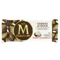 Sorvete Kibon Magnum Cookies&Cream 100ML | Caixa com 16 - Cod. 7891150041042C16