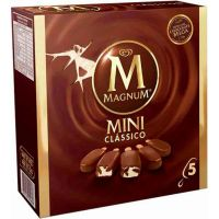 Sorvete Kibon Caixa Premium Mini Magnum Clássico 55ML | Caixa com 6 - Cod. 7891150019898C6