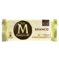 Sorvete Kibon Magnum Picole White 100ML | Caixa com 18 - Cod. 7891150023093C18