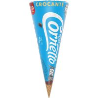 Sorvete Kibon Cornetto Crocante 125ML | Caixa com 18 - Cod. 7891075302402C18