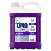 Limpador de Piso Desinfetante Omo Uso Profissional Lavanda 5L - Cod. 7891150065192