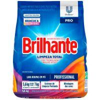 Detergente em Pó Brilhante Limpeza Total 5,6kg - Cod. 7891150067523