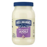 Maionese Aiolli Hellmann's Alho 500g - Cod. 7891150072077C3