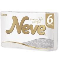 Papel Higiênico NEVE Premium Comfort - 6 Rolos - Cod. 7896018704107C7