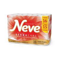 P. Higienico F.Dupla Neve Neutro Compacto None 30 16un - L16p15 - Cod. 7891172432026C4