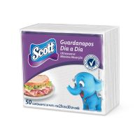 Guardanapo Scott Dia a Dia Familia 50un - Regular - Cod. 7891172145322C12