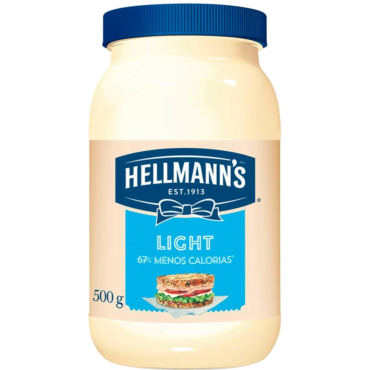 Maionese Light Hellmann's 500g