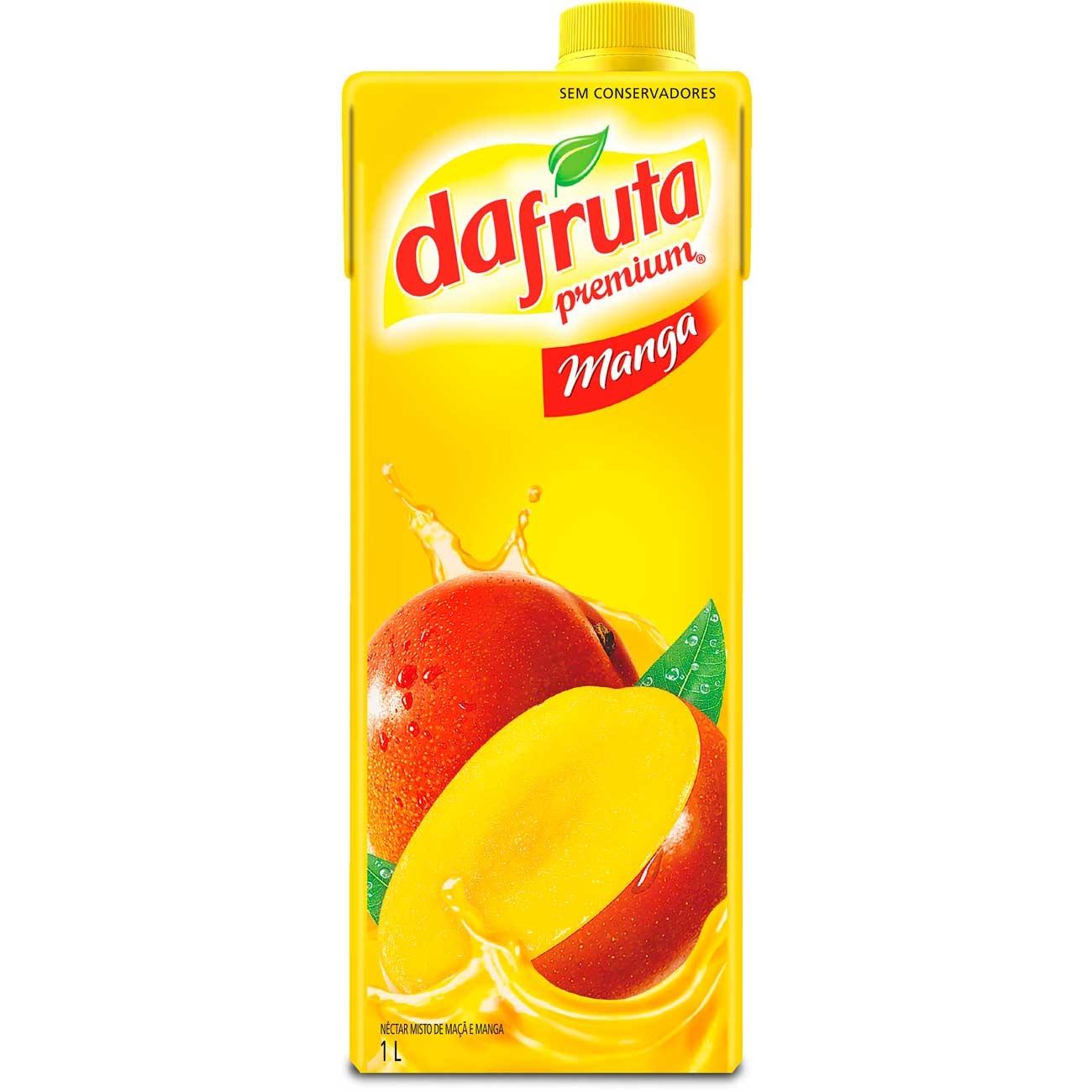 Suco Dafruta Manga Tp 1L | Caixa com 12 unidades