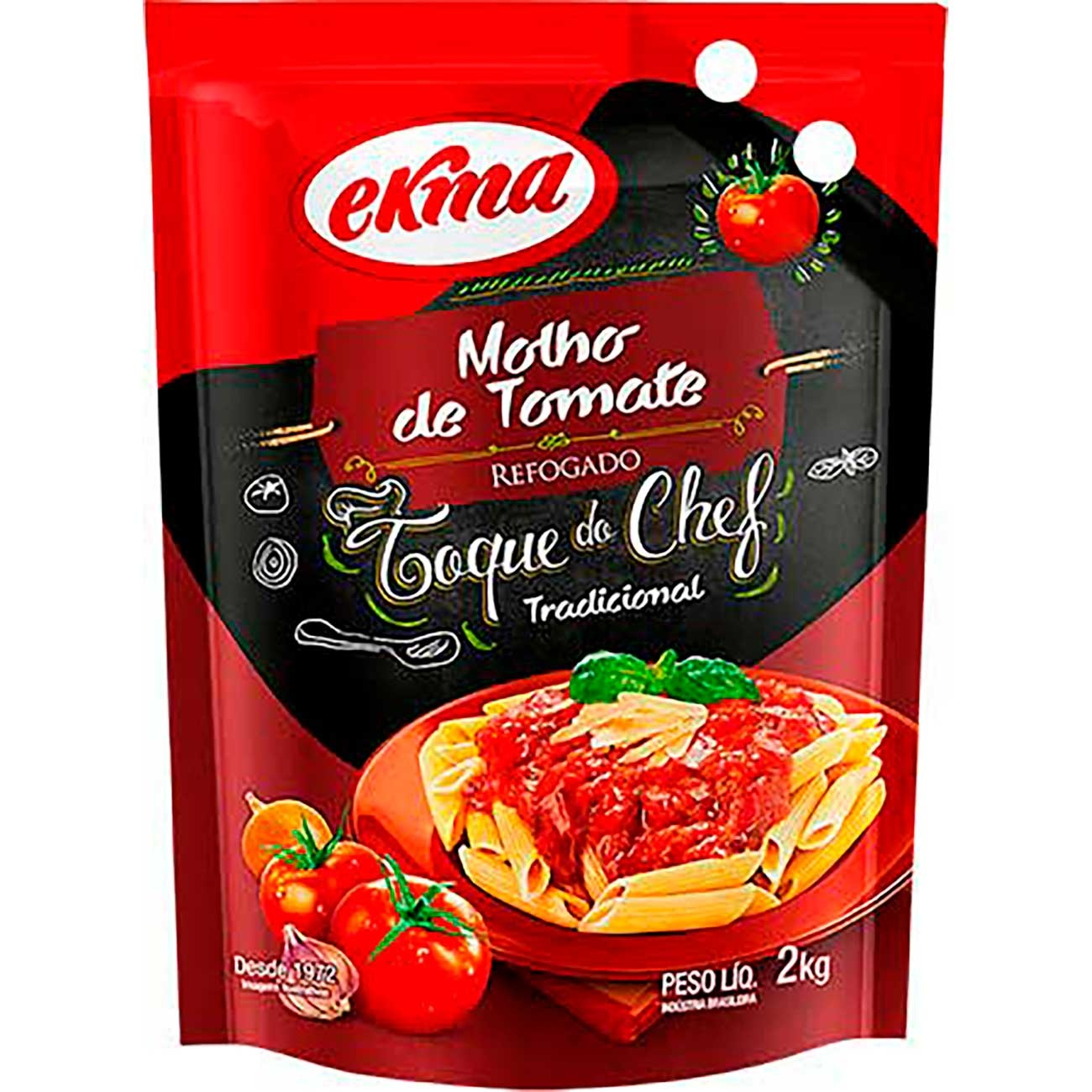 Molho De Tomate Ekma Tradicional Pouch 2kg