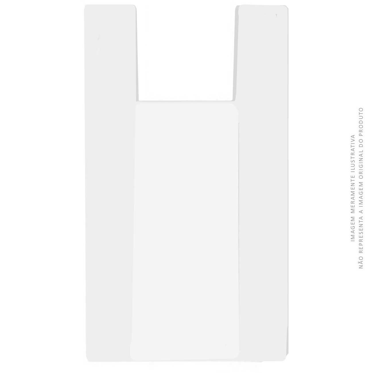 Sacola Pl�stica Forteplas Branca 50 x 60   Caixa com 500 unidades