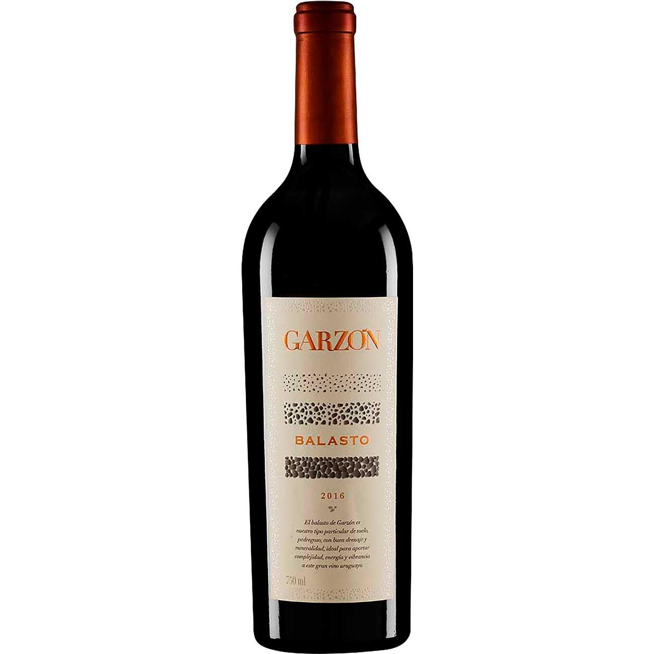 Vinho Uruguaio Garz�n Tinto Balasto 750ml