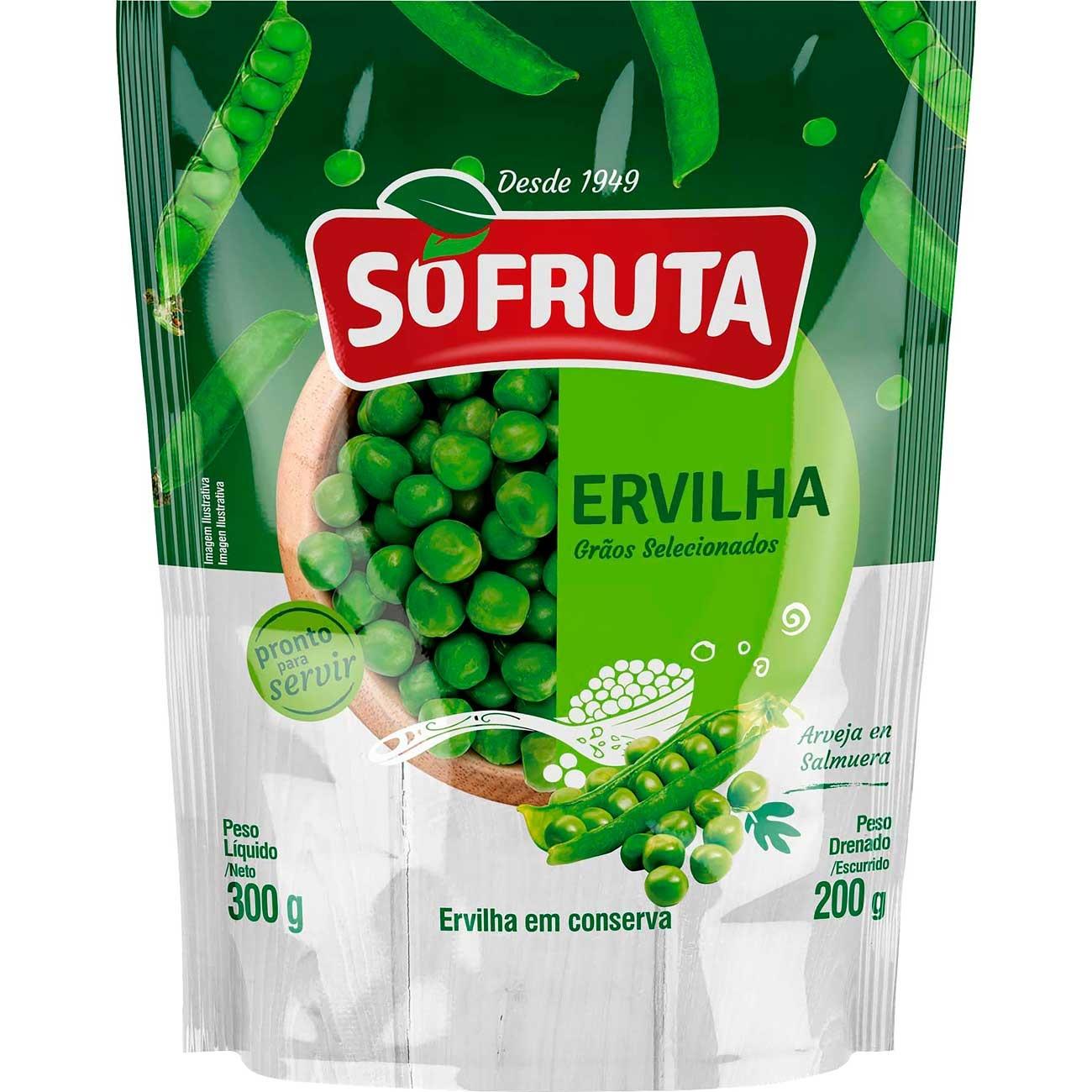 Ervilha Sofruta Pouch 200g | Caixa com 32 unidades