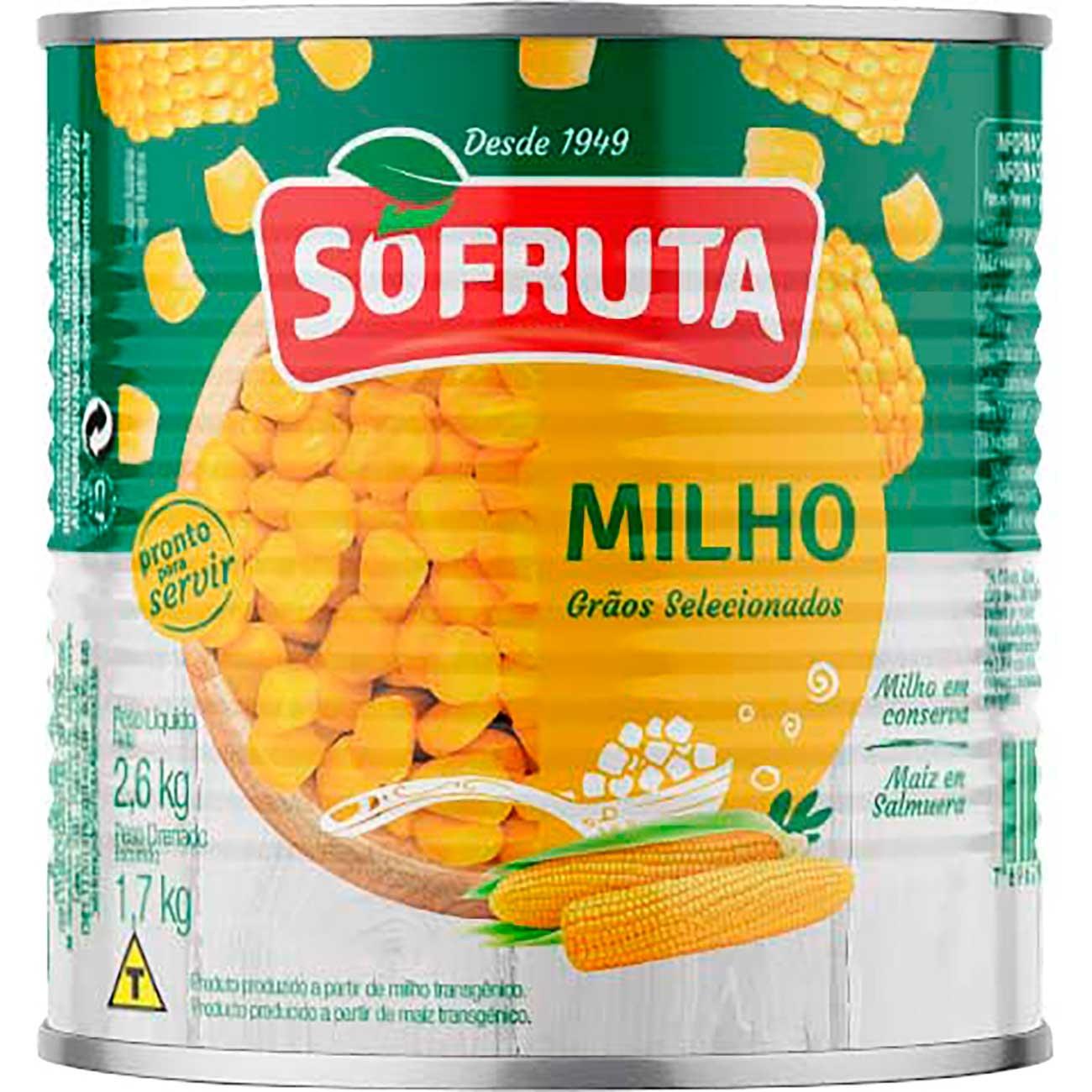Milho Verde 2kg Sofruta Sache | Caixa com 6 unidades