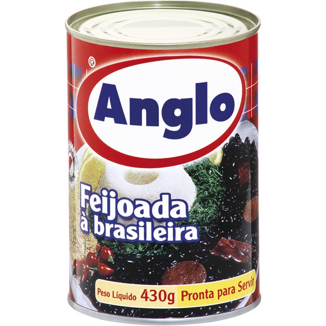 Feijoada Anglo � Brasileira Lata 430g | Caixa com 24 unidades