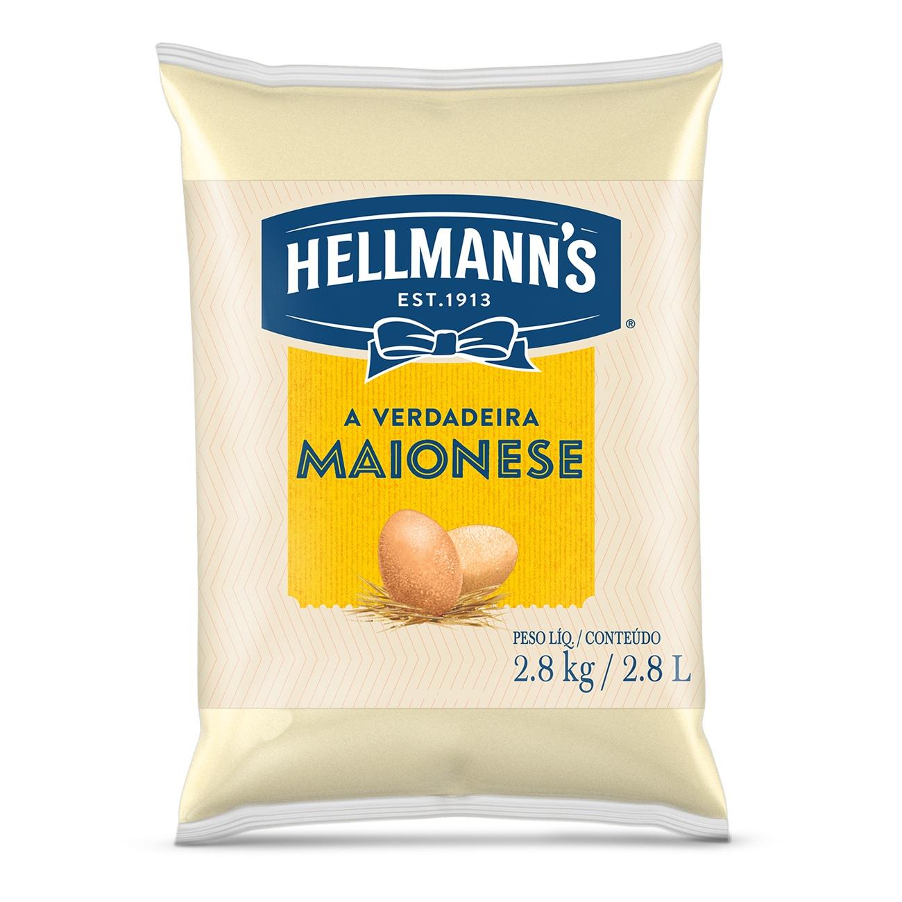 Maionese Hellmann's Saco 2,8kg