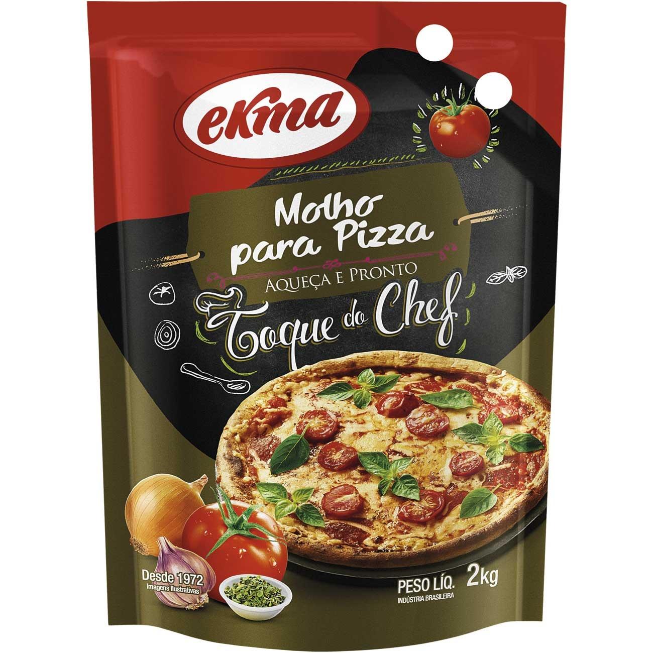 Molho De Tomate Ekma Pizza Pouch 2kg