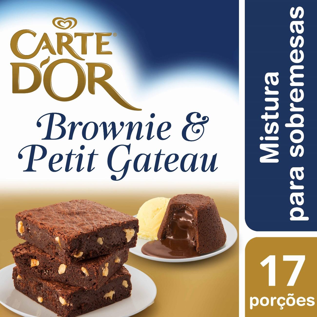 Brownie e Petit Gateau Carte D'Or 800g